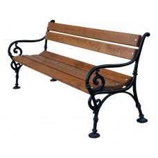 Liatinová lavička Viedeň 150