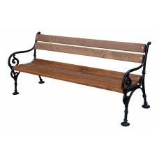 Liatinová lavička Viedeň 180