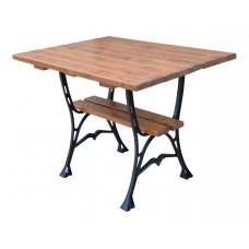 Liatinový záhradný stôl 100 hranatý