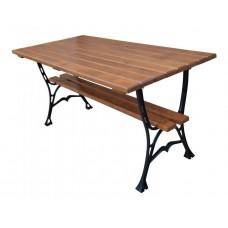Liatinový záhradný stôl 150 hranatý