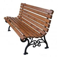 Vonkajšia liatinová lavička Klasik 180 cm