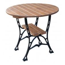 Liatinový záhradný stôl 80 okrúhly